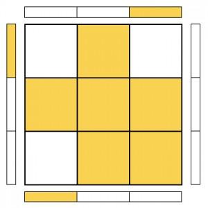 OLL's - Corner Orientation - A-Sune