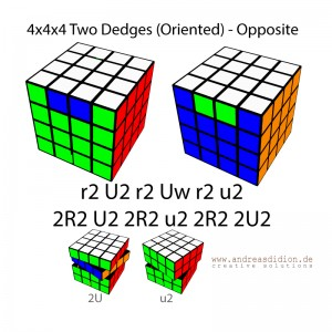 Zauberwürfel-Cube-4x4x4-Two-Dedges-(Oriented)-–-Opposite-–-PLL-Parity-Case