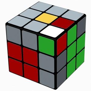 3x3x3 F2L - (R U2 R') U' (R U R')