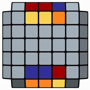 5x5x5-L2E_Parity_Lw' U2 Lw' U2 F2 Lw' F2 Rw U2 Rw' U2 Lw2