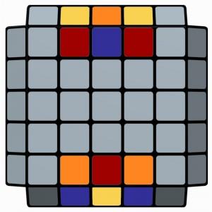 5x5x5-L2E_Parity_Rw2 B2 Rw' U2 Rw' U2 B2 Rw' B2 Rw B2 Rw' B2 Rw2