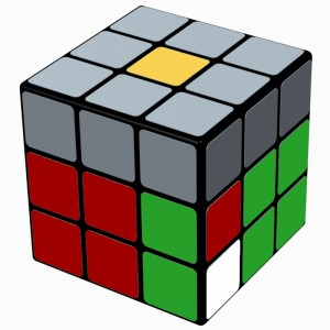 3x3x3 F2L - R U (F R U R' U' F') R
